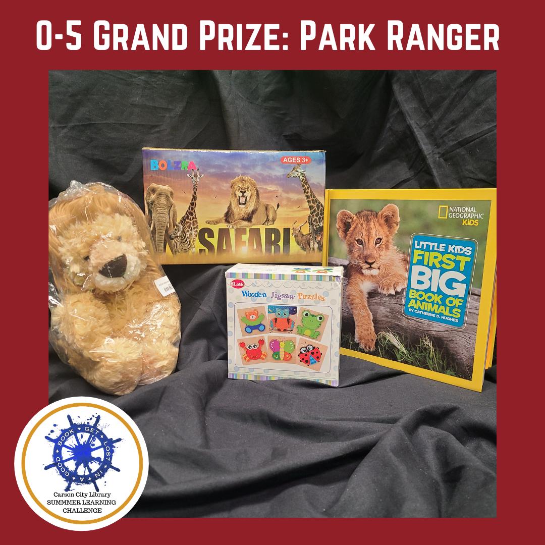 SLC 2021 0-5 Grand Prize: Park Ranger