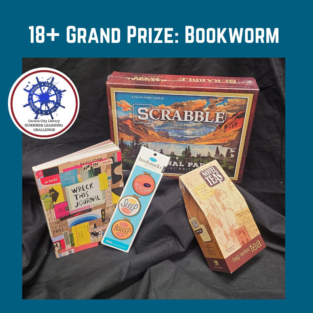 SLC 2021 18+ Grand Prize: Bookworm